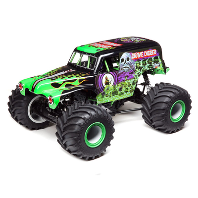 Grave Digger LMT 4WD Solid Axle Monster Truck RTR